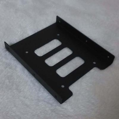 """2.5/"""" to 3.5/"""" Bay SSD Metal Hard Drive HDD Mounting Bracket Adapter Dock Tray"""