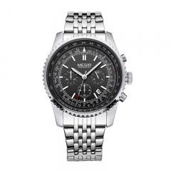 MEGIR 2018 Original Men Watch Stainless Steel Quartz Watches Men Top Brand Luxury Clock type 1