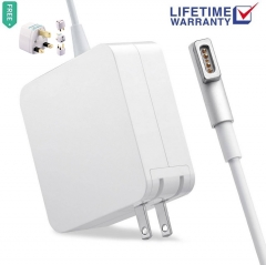 Macbook Pro Charger,60W L-Tip Magsafe Power Adapter Ac Charger for Macbook Pro