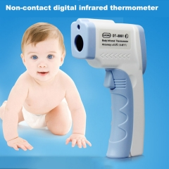 Electronic LCD Infrared Thermometer Body For Children Non-Contact Medical Fever Forehead Normal One Size