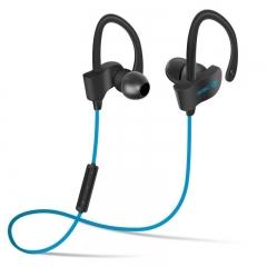 Bluetooth Headphone Bass Wireless Headset Stereo Music Earphone V4.1 Blue One Size