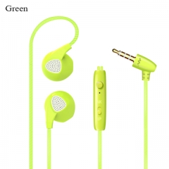 Colorfu Audio Sport-Fi Earphones Noise Isolating In-Ear candy DJ earbuds Wire Headset with mic green
