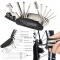 16-in-1Multi Function Folding Bike Bicycle Cycling Mechanic Combination Repair Tool Kits Set normal one size