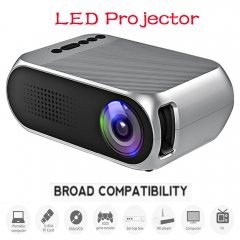 Mini Projector Led Projector Proyector Audio HDMI USB Projetor Home Theater Media Player Beamer Grey No include Hdmi cable