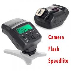 Mini LCD On-camera Slave Flash Speedlite for Canon 750D 760D 5DR 5DRS 60D 70D 700D 5D3 DSLR Camera