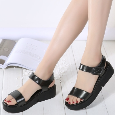 758eabd61cc33 2017 High Quality Summer Women Sandals Comfortable Leather Flat Comfort Sandals  Lady Shoes black uk2.5: Product No: 513751. Item specifics: Brand: