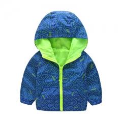 aa78b64dc Baby Boys Jacket Winter Jacket For Boys Bees Hooded Down Jacket Warm ...