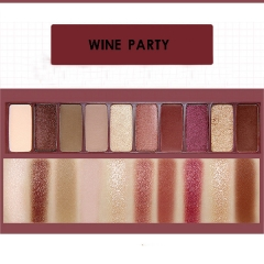 Eye Shadow Palette with Brush Shimmer Matte Eyeshadow Cosmetic Non Dizzy Easy to Color Eyes Makeup #05