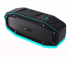 Bluetooth Speaker,Waterproof Portable Speaker Bass Sound amplifiers Outdoor  Speaker for smartphone blue 158(L)*53(W)*62(H)m