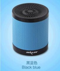 Mini Bluetooth Speaker Wireless Stereo Mini Portable Pocket Audio Support Handsfree TF Card sky balck 72mm*80mm