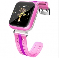 HONMI-Q100 1.54 Inches Colorful Touch TFT Screen Smart Watch Phone Cellphone Mobile Phone pink 1.54 inches