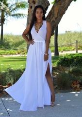 women dress lady dress girl fashionable holiday dress party dress holiday dress white s