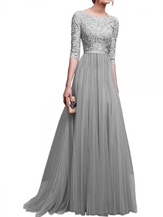 big sizes women dress women clothes fashion dress lady dress gray s