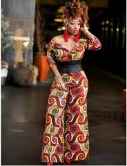 2018 new african style fashion women's clothes dress skirts top leggings trousers women jumpsuits one m
