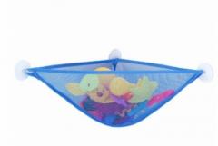 Jomax Bathroom suction cup storage bag( HOMEY  Toy storage bag) blue