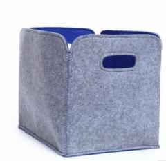 Jomax Felt cloth home storage box(HOMEY   Felt cloth ) grey felt cloth