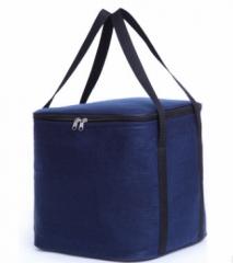 Jomax Felt cloth insulation aluminum film lunch bag(015) blue