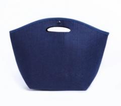 Jomax Felt cloth shopping bag( 081) blue