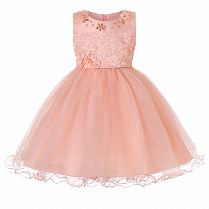f6cdc5e98d33 2018 New Children Dresses For Girls Kids Formal Wear Princess Dress ...