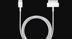 iPhone4/4S iPad1/2/3 iPod Apple Data Cable Fasting Charging Original iPhone data cables white