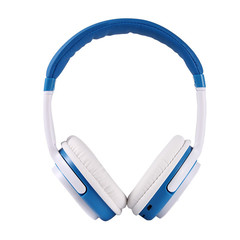 New XK-6800 Sports Headset Wireless Card with Radio Stereo Bluetooth Headset 4.1 blue&white