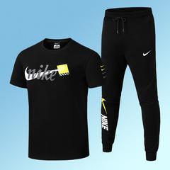 Nike Nike Summer Thin Men's Casual Pants Slim Feet Sports Pants Men's Pants Men's Trend Set black l