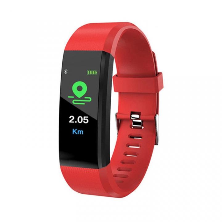 2019 New Digital Smart Watch Men Women Heart Rate Monitor Fitness Tracker Smartwatch Sport Watch red normal