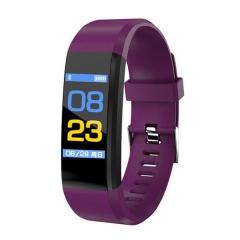 2019 New Digital Smart Watch Men Women Heart Rate Monitor Fitness Tracker Smartwatch Sport Watch purple normal