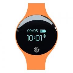 Luxury Smart Watch Women Men Calorie Pedometer Fitness Sleep Track SmartWatch For Android IOS Phone orange normal