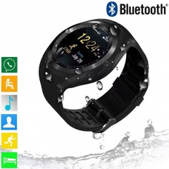 Fashion Men Women Smart Watch Support Nano SIM Card And TF Card Digital Smartwatch For IOS Android black normal