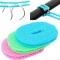 Non-slip Windproof Indoor Outdoor Clothesline Travel Clothesline Laundry Barrier Rope Clothesline 3m(Color Random)