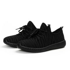 1 Pair Zebra Women Shoes Ladies Casual Shoes Trendy Breathable Shoes Tide Shoes Fashion Sneakers black 40