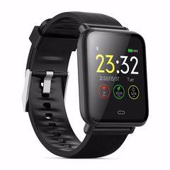 Q9 Smart Watch Waterproof Blood Pressure Heart Rate Monitor Sport Trakcer Watch Men Women Smartwatch black one size