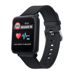 M28 Smart Watches Women Men Swimming Heart Rate Monitor Fitness Tracker Smartwatch For Android IOS black one size