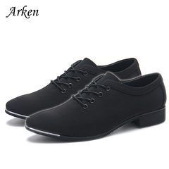 NEW Men Formal Wedding Shoes Luxury Men Business Dress Shoes Men Loafers Pointy Shoes black 39