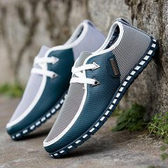 2019 New Arrival Influx Male Shoes Casual Wild Tide Men Shoes Peas Shoes Fashion Sneakers Plus Szie blue 47