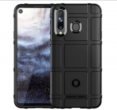 Hot Sale Samsung Galaxy A8S Case Rugged Shield Silicone Heavy Duty Armor Shock-Proof Phone Case blue for Samsung Galaxy A8S Smartphone