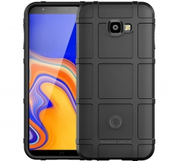 Shinwo Samsung Galaxy J4 Core Smartphone Silicone Heavy Duty [Drop-Protection] Protective Case black for Samsung Galaxy J4 Core