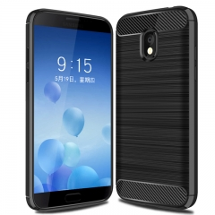 Samsung Galaxy J3 Eclipse 2 / Sol 3 / Galaxy J3 Star Soft TPU Shockproof Protective Case black for Samsung Galaxy J3 Eclipse 2 / Sol 3 / J3 Star