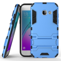 Shinwo Samsung Galaxy A3 (2017) Smartphone Case Rugged Armor [Drop-protection] with Kickstand blue for Samsung Galaxy A3 (2017) Smartphone