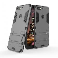 Huawei Nova 2 Lite / Enjoy 8 / Play 7C / Honor 7C Pro Case Armor [Drop-protection] with Kickstand sliver for Huawei Nova 2 Lite / Enjoy 8 / Play 7C