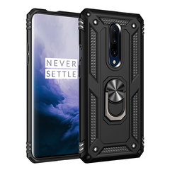 Hot Sale Phone Case for Oneplus 7 Pro [Drop-protection] with Car Magnetic Ring Holder black for Oneplus 7 Pro
