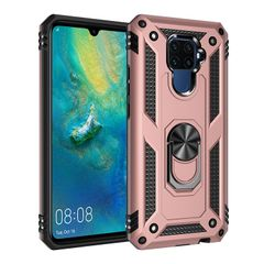 Case for Huawei Mate 30 Lite  Nova 5i 2019 Casing [Drop-protection] with Car Magnetic Ring Holder gold for Huawei Mate 30 Lite