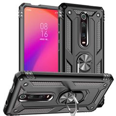 Case for Xiaomi Mi 9T 9T Pro Mi K20 K20 Pro Casing [Drop-protection] with Car Magnetic Ring Holder black for Xiaomi Mi 9T