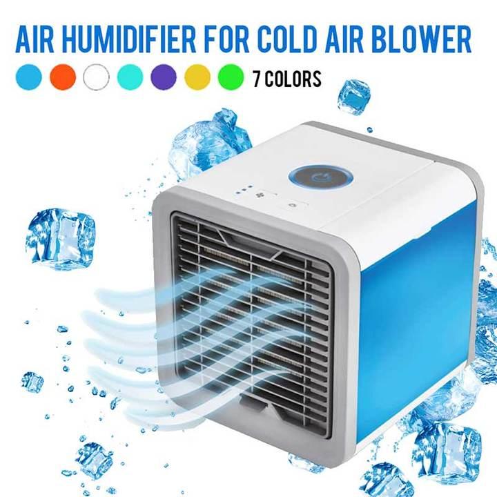 MCDFL Summer Portable Mini Air Conditioner Air Cooler Mini Fan Cooler Humidifier Home Office Desk