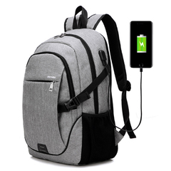 Travel Laptop Backpack Business Computer Backpack Work Daypack with USB Charging Port blue one size