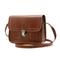 Ladies Vintage Small Messenger Bag Shoulder Handbag Cross Body Purse Bags Handbags brown one size