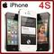 Refurbished smartphone iphone 4s 32GB 3.5 inch smart phone iphone4s 8MP unlocked original white