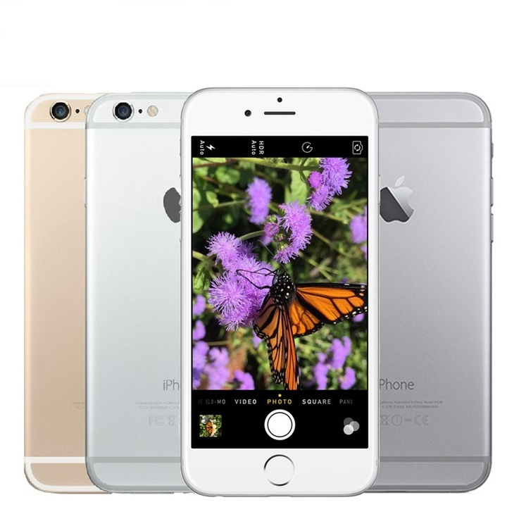 buy popular f117a 6995c Refurbished apple iphone 6 plus16GB/64GB/128GB 5.5 inch smartphone without  fingerprint iphone6 plus black 16g