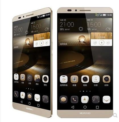 Refurbished Smartphone Huawei Mate 7 3GB+32GB -6''13+5 MP- Double SIM-4100mAh smartphone gold 2+16g